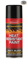 HEAT RESISTANT PAINT SPRAY HIGH TEMPERATURE STOVE EXHAUSTS BBQ VHT