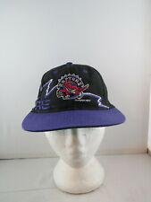 Toronto Raptors Hat (VTG) - Thunderbolt with Original Logo - Adult Snapback
