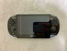 Sony PS Vita Crystal Black 3G / Wi-Fi Model Limited Edition PCH-1100  from jAPAN