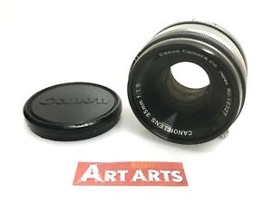 【 EXCELLENT+5 】 Canon 35mm f/1.8 Lens for LTM L39 Leica Screw L Mount from JAPAN