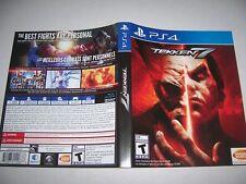 Original Replacement Case Box PlayStation 4 PS4 Tekken 7 *NO GAME*