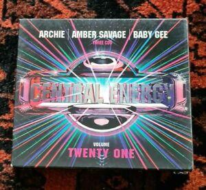 Central Energy Vol 21 Anne Savage Archie 3 x CD Australia - EX