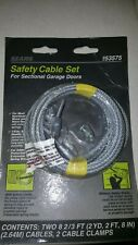 New Garage Door Cable Set 8 2/3 Sectional Doors Torsion Springs Sear 953975