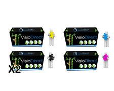 5 Toner CC530A CC531A CC532A CC533A pour HP Color Laserjet CP2025DN