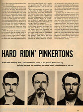 Those Hard Ridin' Pinkertons & Outlaws They Caught-Curry,Dalton,Dimaio,Hegepeth