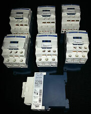 BATCH OF 7x CAD 32 BD  24V DC Telemecanique / Schneider Control Relays USED