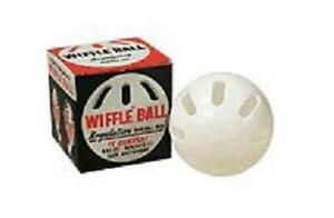 3 baseball OFFICIAL WIFFLE® BALLS in boxes