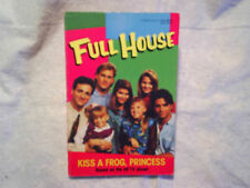 1992 FULL HOUSE Kiss A Frog Princess,mary-kate ashley olsen,saget,john stamos,PB