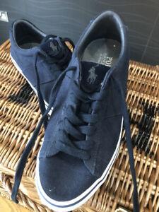 Polo Ralph Lauren Shoes Size 7 Navy