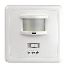 Unterputz Wand Bewegungsmelder 3-Draht 160° Lichtschalter LED geeig Infrarot PIR