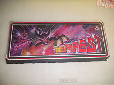 """Atari Tempest sticker on glass 19- 7 1/2"""" arcade game sign marquee"""