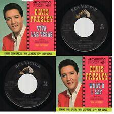 "Elvis Presley ""Viva Las Vegas /What'd I Say"" RCA Victor 47-8360 1964"