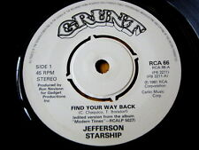 "JEFFERSON STARSHIP - FIND YOUR WAY BACK  7"" VINYL"