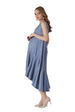 Denim Umstandskleid Schwangerschaftskleid Abendkleid Umstandsmode schwanger