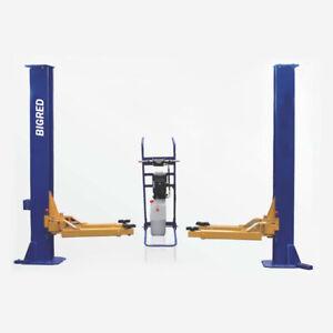 3Ton two post movable hoist