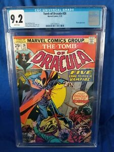 💥TOMB OF DRACULA 28💥 - CGC 9.2 NM- BLADE APPEARANCE