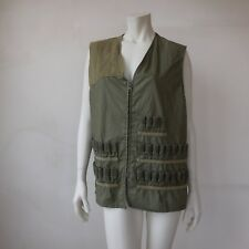Gilet chasseur cartouches besace taille 48 authentique vintage made in France