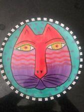 "Laurel Burch Ceramic 8"" Cat Plate by Design Studio/Henriksen,  00004000 Vintage 1998"