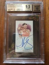 Maria Sharapova 2016 TOPPS Allen Ginter On Card Auto BGS 9.5 True GEM