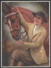 "Glamour Girl vintage Art Deco print 7.5"" x 10.5"""