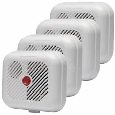 Ei KiteMarked Smoke Detector 4 Pack Fire Alarm Ionisation Batteries Included