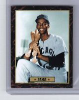 Ernie Banks '54 Chicago Cubs Ultimate Baseball Card Collection #21