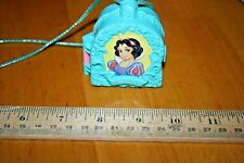 RARE Vintage 90's Once Upon A Time Snow White Locket Necklace Playset/Used