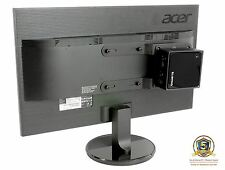 Allcam Universal NUC/ Mini PC Mount for Mounting to LCD Monitor or Monitor Arms