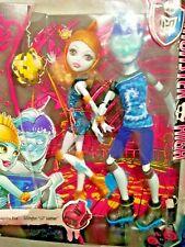 Rueda De Monster High Paquete De Muñeca De Amor 2 Inc Gil Webber & Lagoona Blue Muñecas Nuevo Y En Caja
