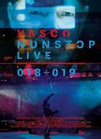 Vasco Nonstop Live 018+019, DVD + Blu-ray, nuovo