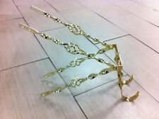 """GOLD CAGED TWISTED 20"""" LOWRIDER BIKE SPARE TIRE KIT  CRUISER BICYCLE"""