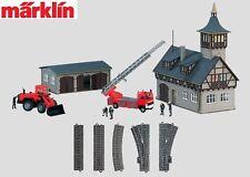 """Märklin H0 78000 Themen-Ergänzungspackung """"Feuerwehr"""" - NEU + OVP"""