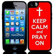 Red Keep Calm and Pray On For Iphone 6 Case Cover