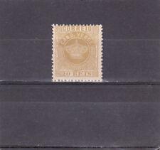 CAPE VERDE CROWN 20 REIS (1877) Perf. 12,5  AF # 3