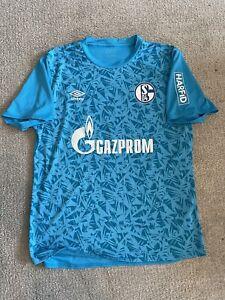 FC Schalke 04 Shirt Trikot Matchworn Gr.XL Fährmann