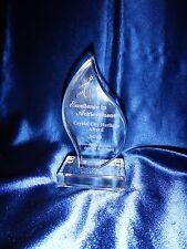 SUPER RARE Original Hollywood Prop Award: 2013 Crystal City Heritage Award
