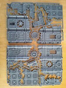 Warhammer 40K - Terrain - Imperial ruins - NOS