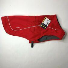 Ruffwear Overcoat Abrasion-Resistant Insulated Dog Jacket Medium Red