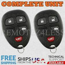 2 for 2005 2006 2007 2008 2009 Pontiac Montana Keyless Entry Remote Key Fob 021
