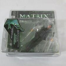 McFarlane Matrix Reloaded Trinity Falls , 2003 Action Figure, Series Two