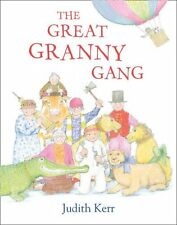 The Great Granny Gang by Judith Kerr (Paperback & Audio CD) NEW