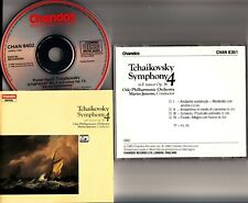 W.GERMANY CHANDOS FULL SILVER- Tchaikovsky Symphony No.4 Oslo/Jansons CD