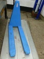 More details for scissor lift pallet  pump truck scissor lift pump truck used good  working cond