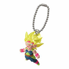 Dragon Ball Z DBZ Super Saiyan BARDOCK Figure Keychain Ring Gashapon Capsule