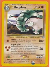 Official Pokemon TCG Neo Genesis Rare  1 x  DONPHAN  # 21/111   Never Played