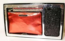 Victoria's Secret Party Perfect Duo Wristlet Purse Hard Phhone Case IPHONE 6 Red