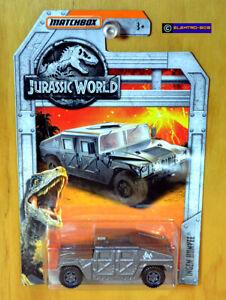 Matchbox Ingen Humvee Hummer [Jurassic World] Park - New/ Sealed/VHTF [E-808]