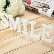 Free Standing 26 Large Wooden Letters Alphabet Wall Hanging Wedding Party Decor