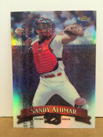1998 Topps Finest Refractor #119 Sandy Alomar parallel card NM/M Cle Indians