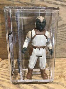 Vintage Star Wars Klaatu Skiff UKG 85 Not AFA